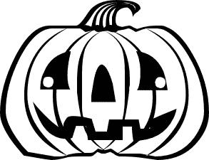 Free Jack O Lantern Clipart Black And White, Download Free.