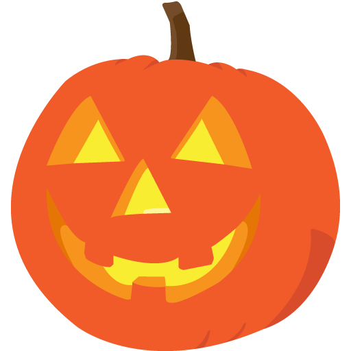 Friendly Jack O Lantern Clipart.