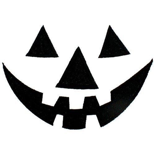 Jack o lantern face clipart black and white 3 » Clipart Portal.