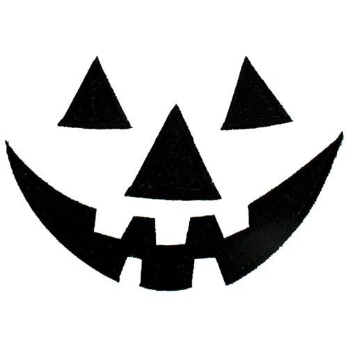 Jack o lantern face clipart black and white 3 » Clipart Portal.