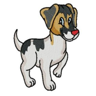 Dog clipart jack russel.