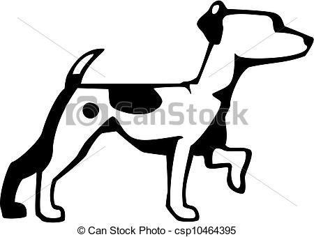 Jack russell terrier Clipart Vector Graphics. 362 Jack russell.