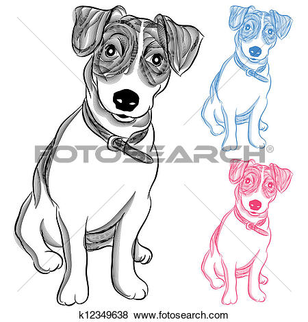 Jack russell Clipart Vector Graphics. 365 jack russell EPS clip.