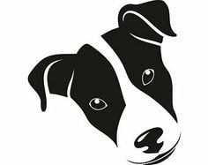 Jack Russell Silhouette Clip Art.
