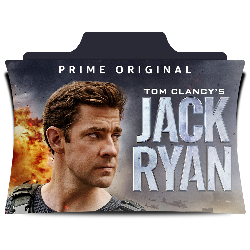 Tom Clancy's Jack Ryan : TV Series Folder Icon by Amr.