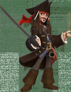 Jack Sparrow Clipart transparent PNG.