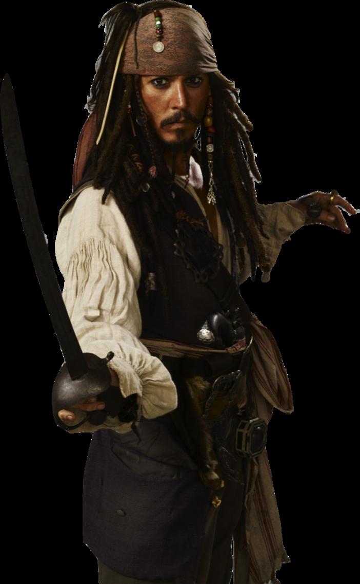 Captain Jack Sparrow PNG Transparent Images.