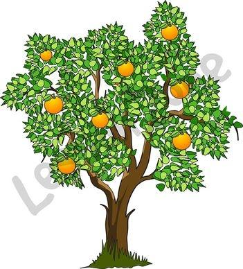 Jackfruit Tree Clipart.