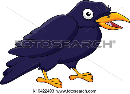 Jackdaw Clipart Royalty Free. 30 jackdaw clip art vector EPS.