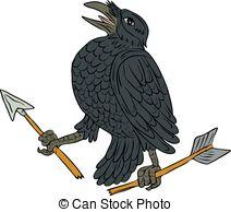 Jackdaws Clipart Vector Graphics. 30 Jackdaws EPS clip art vector.