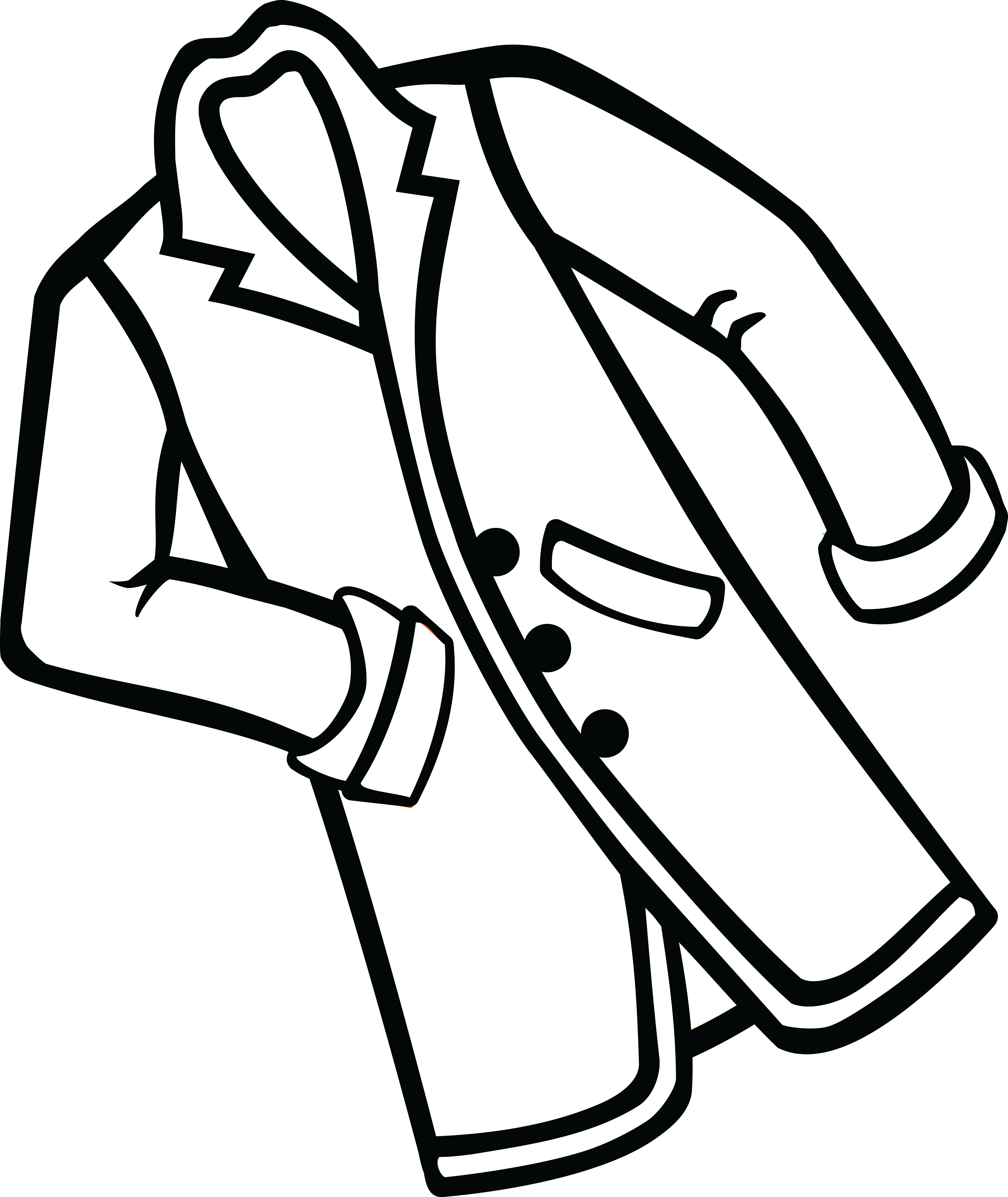 Jacket clipart black and white 3 » Clipart Station.