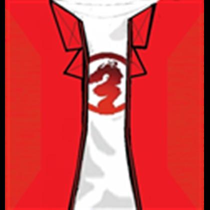 LB red triad t shirt jacket by Xin Shan.