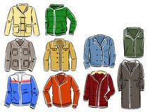 Jackets clipart.