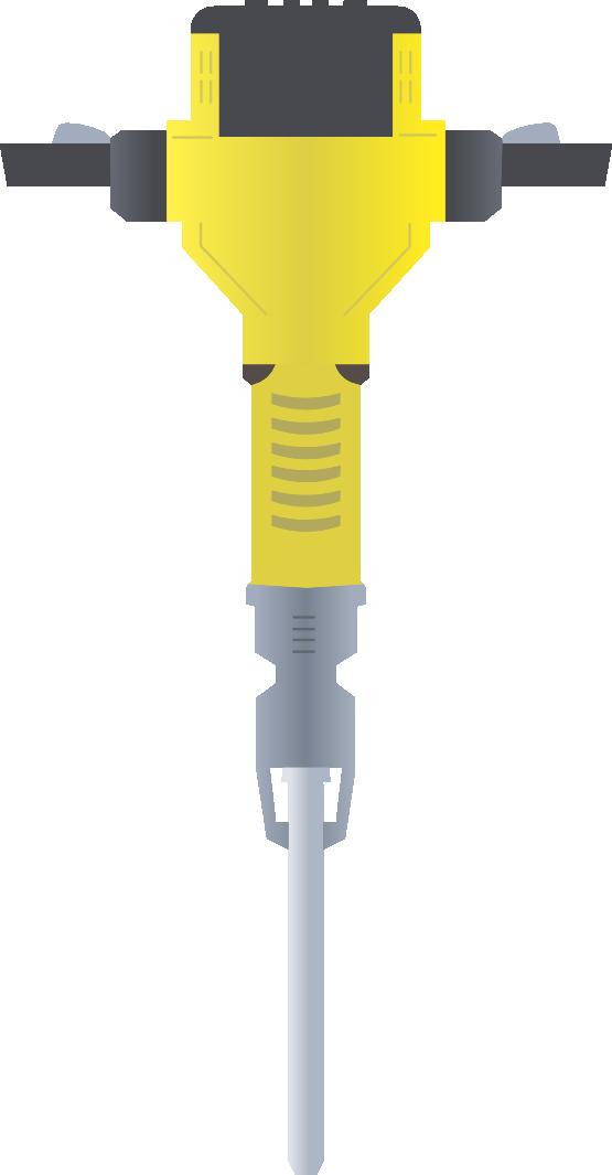 Free Jackhammer Clip Art.