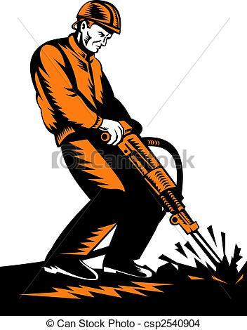 Jackhammer Illustrations and Stock Art. 560 Jackhammer.