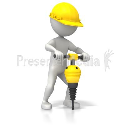 Construction Jackhammer.