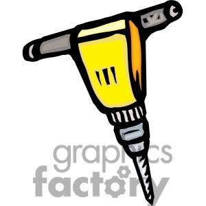 Jack Hammer Clip Art.
