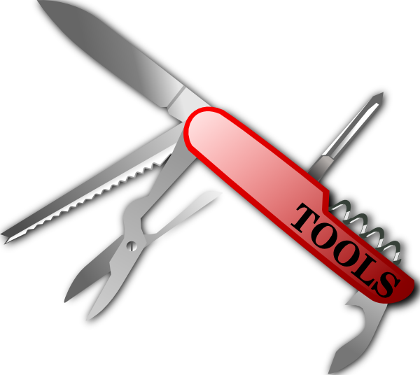 Swiss Knife Clip Art at Clker.com.