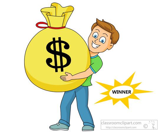 Jackpot Winner Clipart.
