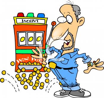 Casino Jackpot Clipart.