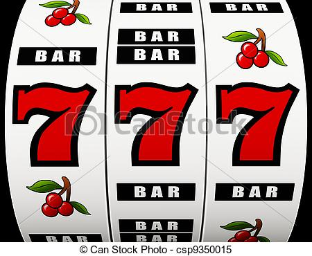 Jackpot Slot Machine Clipart.