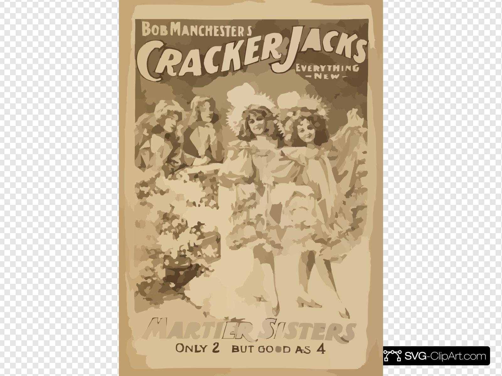 Bob Manchester S Cracker Jacks Everything New. Clip art.