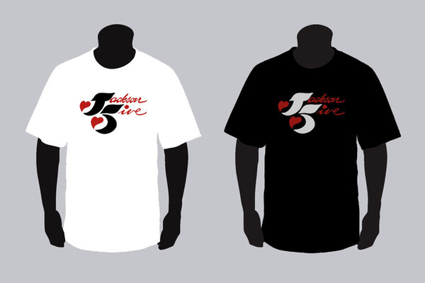 New Jackson 5 Logo Black And White T Shirt TEE XS 3XL Silly T Shirt Make  Your Own Tee Shirt Design From Moviethirt, $12.7.