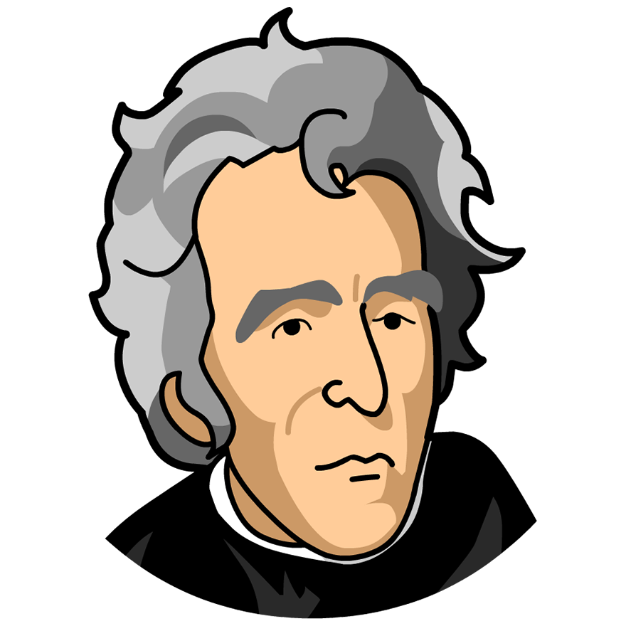 Andrew Jackson Clipart.