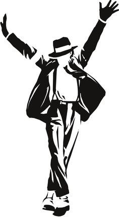 Michael Jackson Clip Art.