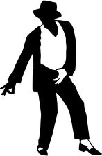Michael Jackson Silhouette.