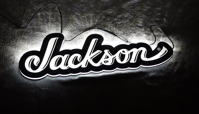 Jackson Guitars Logo LED Sign 120v with power supply 2995533100.
