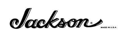 Jackson Headstock Waterslide Logo Decal.