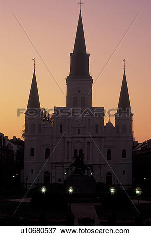 Picture of New Orleans, LA, Louisiana, French Quarter, Jackson.