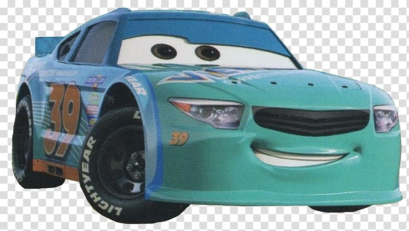 Cars Lightning McQueen Jackson Storm Finn McMissile Pixar, Cars 3.