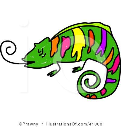 Chameleon Clipart.