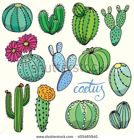 """""""purple Cactus"""" Stock Photos, Royalty."""