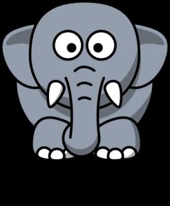 Jacob The Elephant Clip Art at Clker.com.