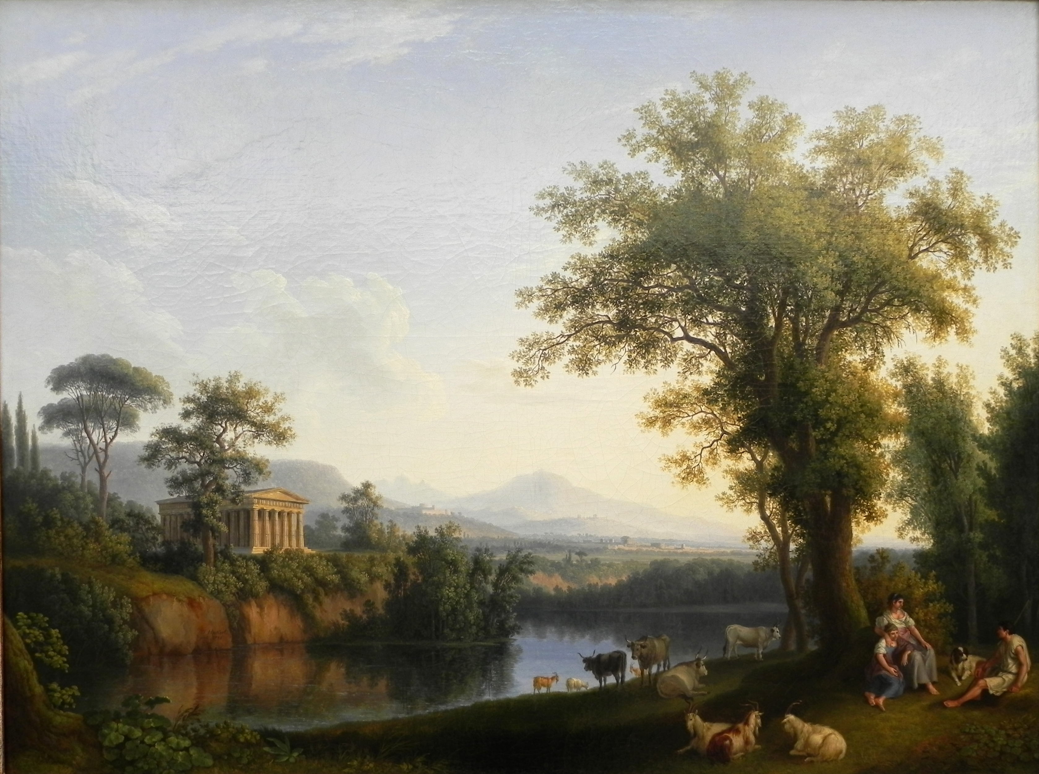 File:Jacob Philipp Hackert Italien Flusslandschaft.JPG.