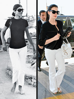 denisblogs: jackie kennedy onassis fashion.