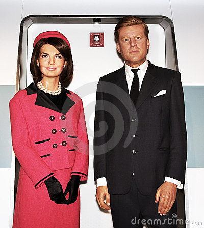 John And Jacqueline Kennedy Editorial Image.