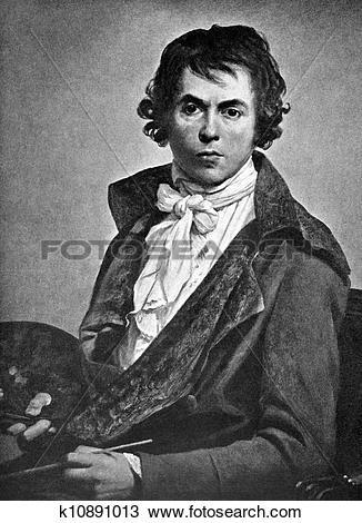 Stock Photo of Jacques Louis David k10891013.