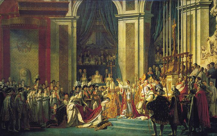 David, Napoleon Crossing the Alps (article).
