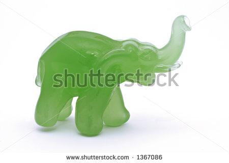 Jade elephant clipart.