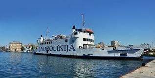 Jadrolinija Ferry Ship Editorial Image.