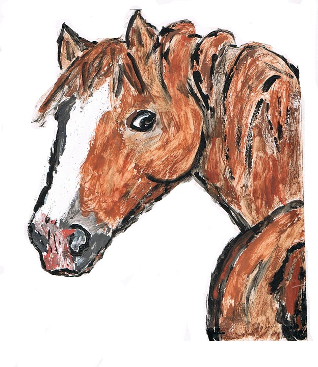 Painted, Horse.