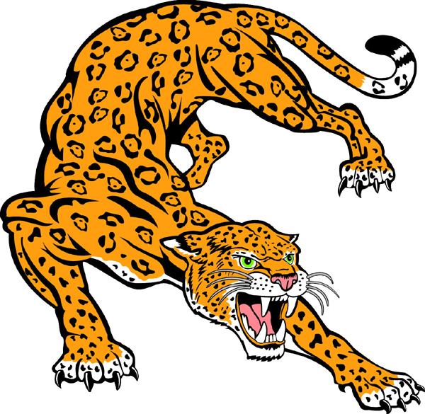 Free jaguar clipart 2.