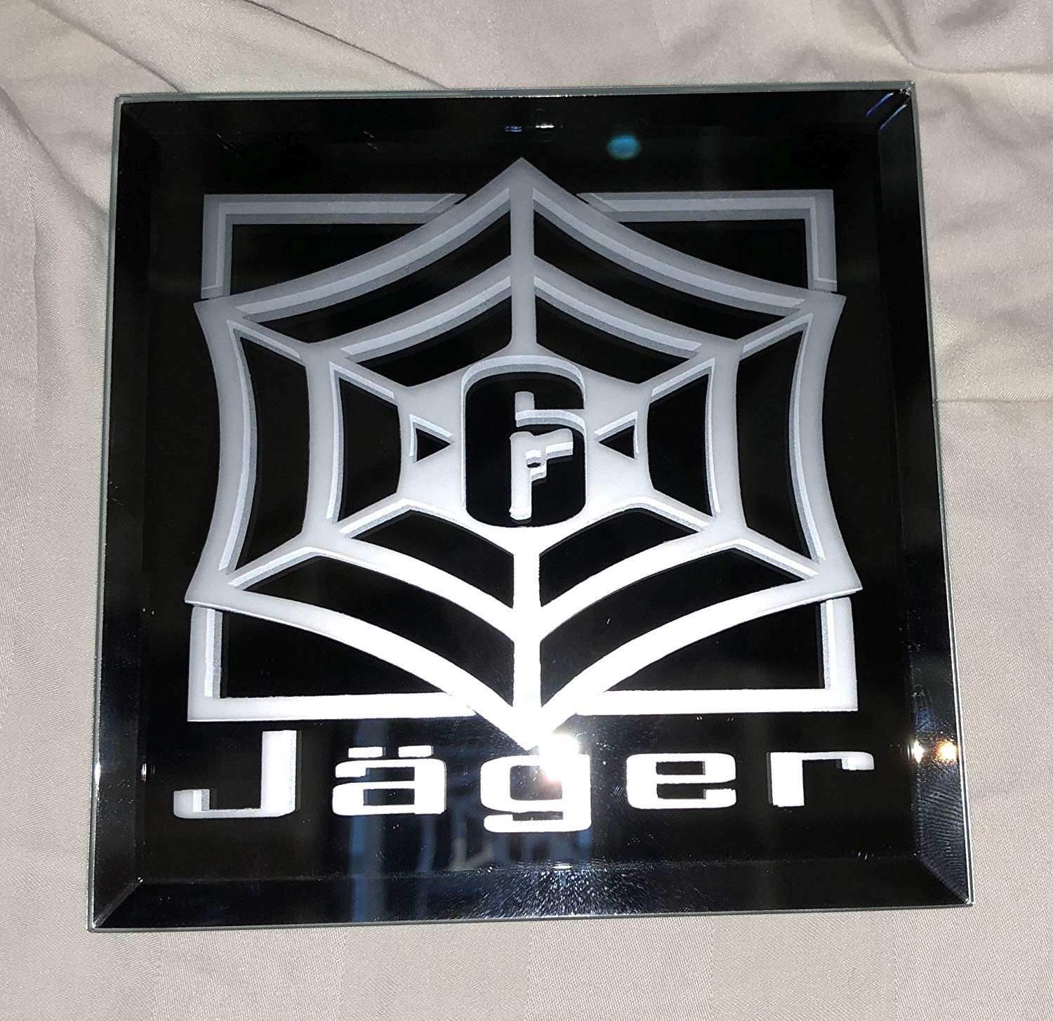 Rainbow Six Siege Jager Limited Edition Logo Mirror.
