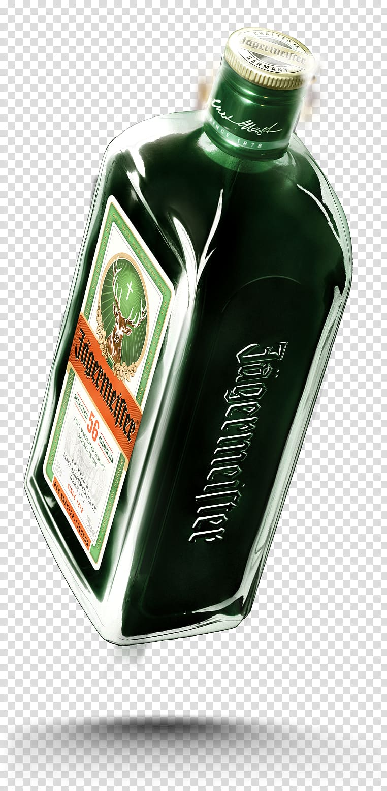 Jägermeister Liqueur Bottle Alcoholic drink, bottle.