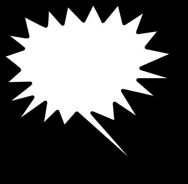 Sunburst Outline Clipart.