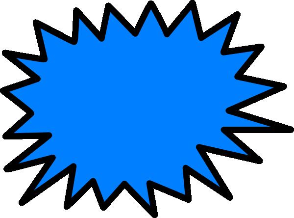 Blue Sunburst Clip Art at Clker.com.
